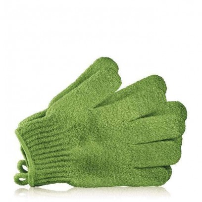 Bath Gloves Green