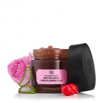 British Rose Fresh Plumping Mask 75ML