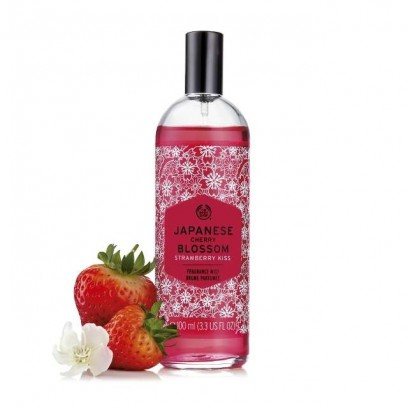 Japanese Cherry Blossom Strawberry Kiss Fragrance Mist