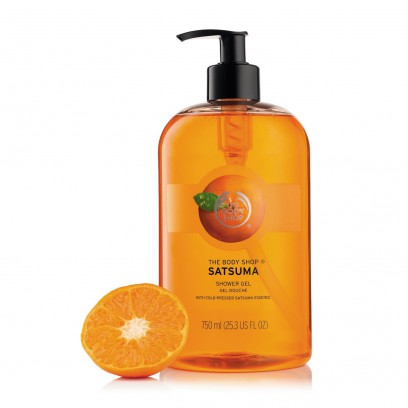 Satsuma Shower Gel 750ml